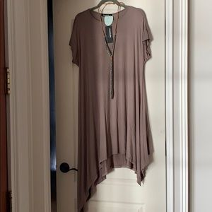 Annabelle asymmetrical hem dress